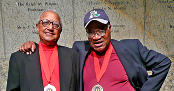 Floyd Norman and Leo Sullivan