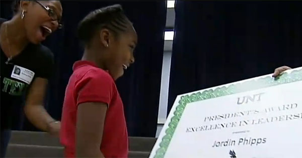 Jordan Phipps, 8-Year Old That Received Texas Scholarship