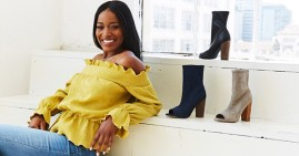 Keke Palmer's shoe collection with Shoe Dazzle