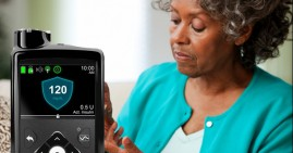 MiniMed device by Metronics that manages Diabetes
