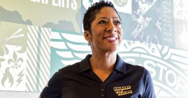Tina D. Howell, entrepreneur and Wingstop franchisee