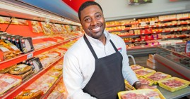 Tyrone Legett, former NFL player and founder of Black-owned grocery store