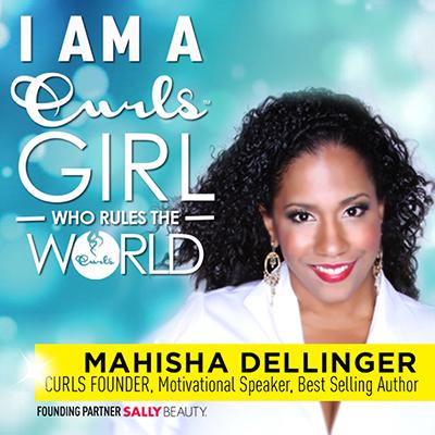 Mahisha Dellinger, founder of Curls Gurls Rule the World