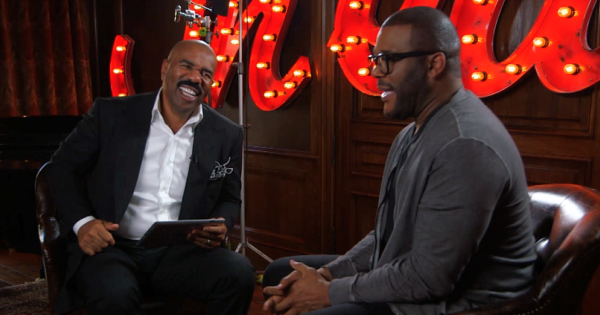 Steve Harvey Show interview with Tyler Perry