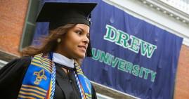 Drew University low income student