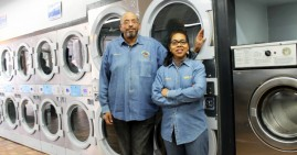 Black-owned laundrymat