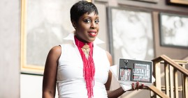 Natasha Bernard, founder of Fashion Fab Boutique