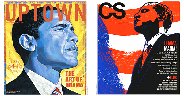 Obama: 101 Best Covers by Ben Arogundade