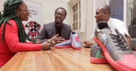 Entrepreneur Jide Ipaye, founder of the Keexs smart shoe
