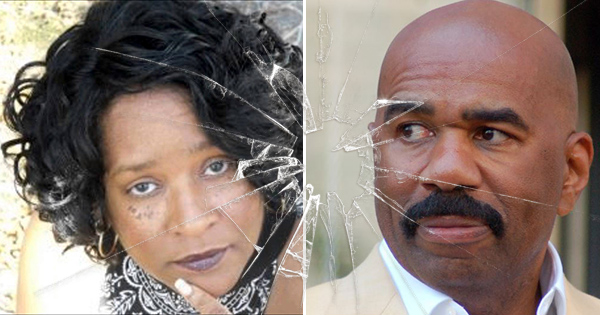 Essie Berry and Steve Harvey