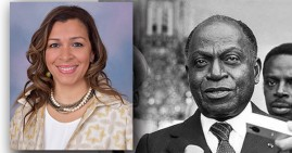 Stephanie Gregoire-McKinney, granddaughter of the first President of Cote D'voire (West Africa)