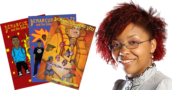 Quineka Ragsdale, author of the Demarcus Jones Book series