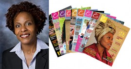 Angela Turner, founder of Curls, Twists, Coils and Kinks Magazine