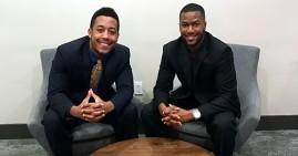 Jamal Wilson and Alexander Logan, founders of the Selfie Radar app