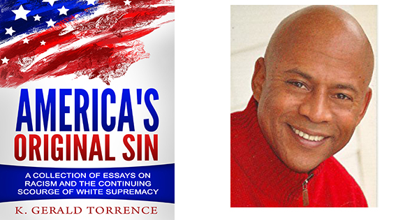 Bookcover and author, K. Gerald Torrence