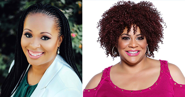 Dr. Tabatha Carr ND and actress/comedian Kim Coles
