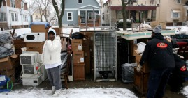 Black family facing eviction