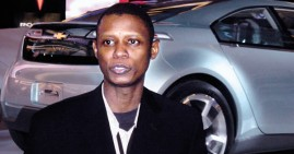 Jelani Aliyu, designer of the Chevy Volt