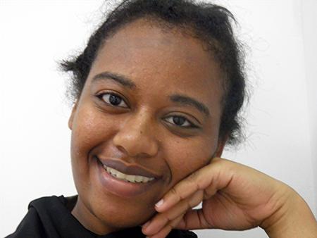 Rivka Yeshayhu, a Black Ethiopian Israeli