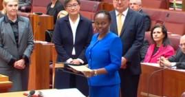 Senator Lucy Gichuhi, the first Black senator in Australia