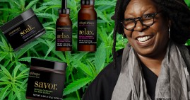 Whoopi Goldberg's new line of medical marijuana products