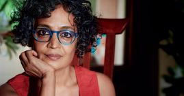 Arundhati Roy, author and political activist