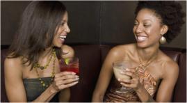 Black women drinking