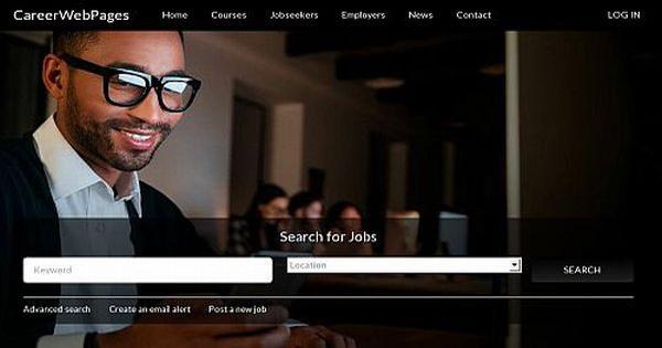 CareerWebPages web site snapshot