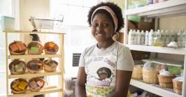 Jelani Jones, founder of Lani Boo Bath