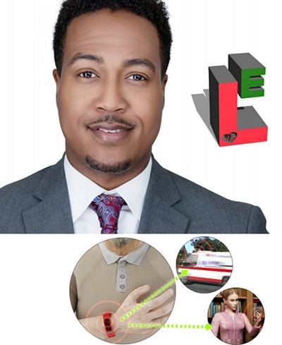 Jemiah Battle, inventor of the Life E-Bracelet