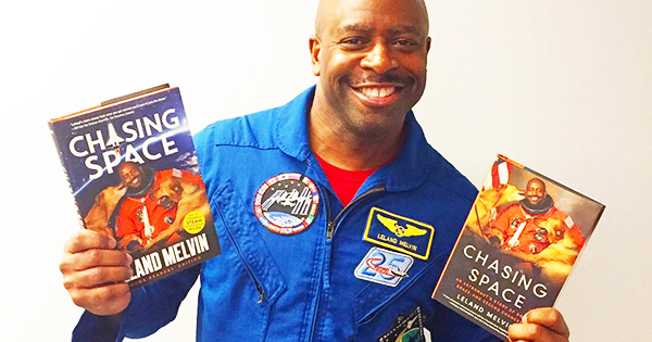 Leland Melvin, author of Chasing Space