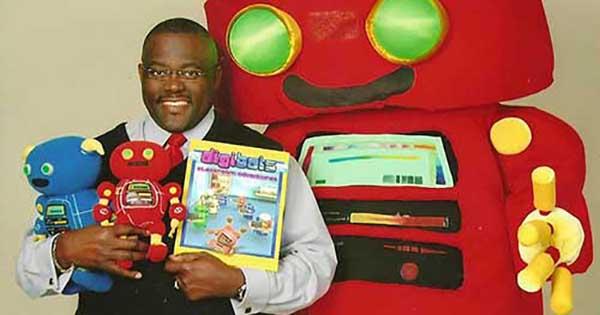Dyke Robinson, founder of Digibots