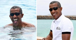 Jose Oliveira, Barack Obama Look Alike