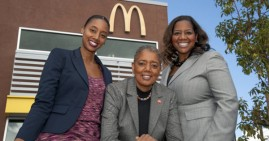 Black women owners of McDonald's 13 franchises