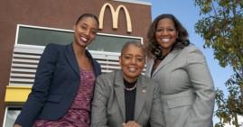 Black women owners of McDonald's 13 franchises