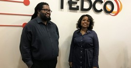 TEDCO administrators of the Minority Business Seed Program