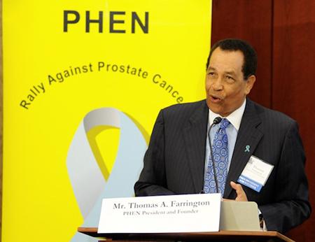 Thomas Farrington, founder of the Prostate Health Education Network (PHEN)
