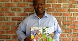 Tony Samuel, author of the Princess Nadia books