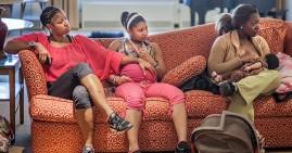 Black mothers breastfeeding