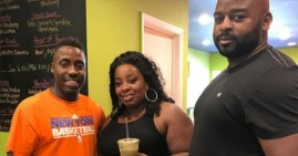 Kenny Minor, owner of Xtract Juice Bar in Baltimore