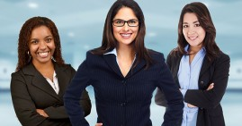 Diverse business women and entrepreneurs