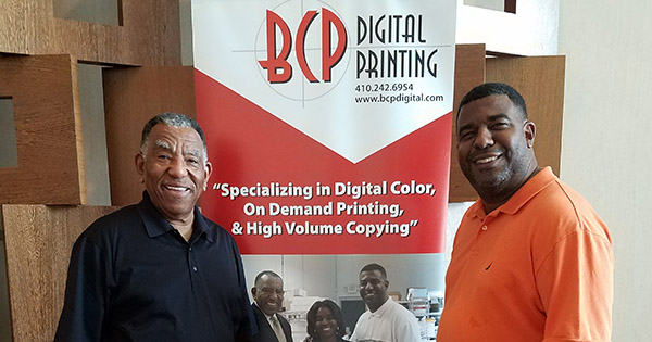 Founders of BCP Digital Printing in Baltimore, MD