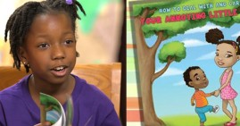 Nia Mya Reese, 8-year old best-selling author