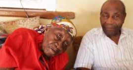 Violet Mosses Brown, the oldest person in the world