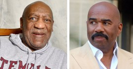 Bill Cosby and Steve Harvey