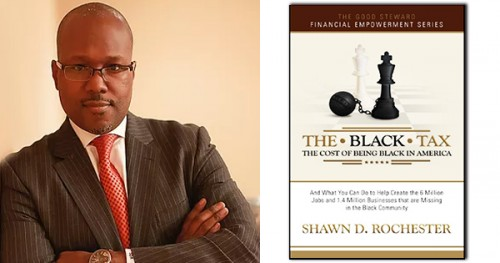 Shawn D. Rochester, author of The Black Tax