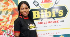 Tutu Adekunle, founder of Bibi's GrillHouse in Lagos, Nigeria