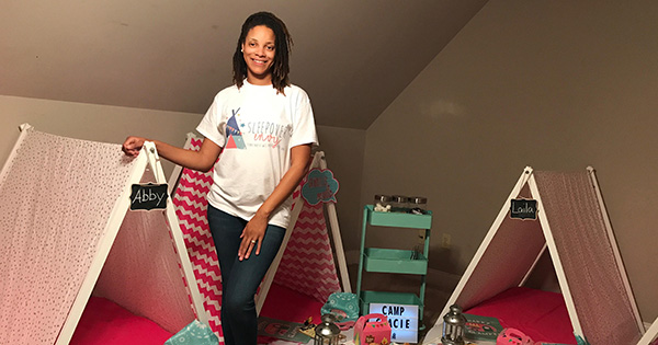 Brittany Harry, Founder of Sleepover Envy
