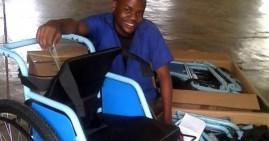 Rwanda entrepreneur making affordable wheelchairs