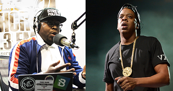 Ash Cash and Jay-Z
